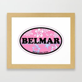 Belmar - New Jersey. Framed Art Print