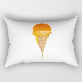 Famous Sunset Flavored Ice Cream Rectangular Pillow
