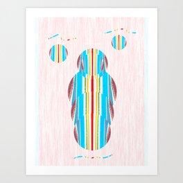 Symmetrical Circle Being: Innerlight Art Print