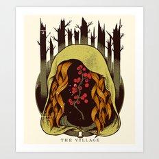 The Village - Movie Poster Art Print