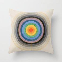 """Hilma af Klint """"Series VIII. Picture of the Starting Point (1920)"""" Throw Pillow"""