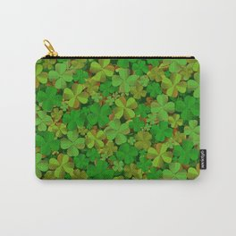 Lucky Clovers Carry-All Pouch