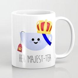 Her Majest-tea Coffee Mug