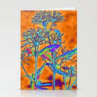 popart Stationery Cards featuring PopArt Floral by AlexisAnne