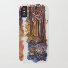 Forest Owls iPhone Case