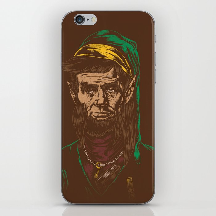 Abraham LINKoln iPhone Skin