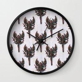 crunchy scorpions Wall Clock