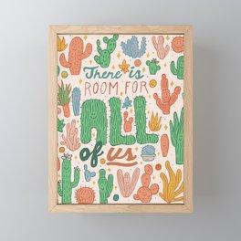 Room for All Framed Mini Art Print