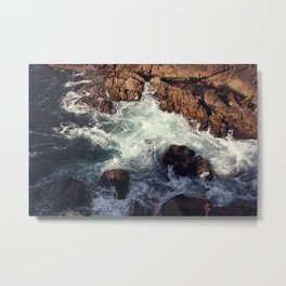 swirling current Metal Print