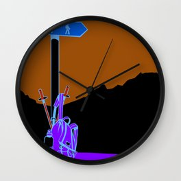 Day Hike Wall Clock