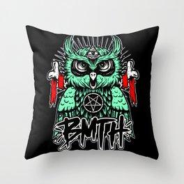 BMTH Owl Throw Pillow