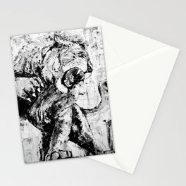 """Carmine the Lion """"Silver Version"""" Stationery Cards"""