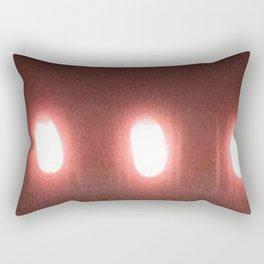 Abstracte Light Art in the Dark 6 Rectangular Pillow