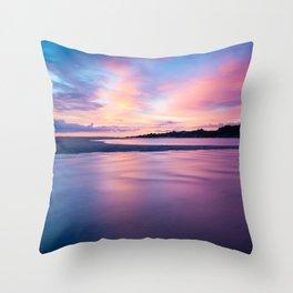 Slice of Silence Throw Pillow