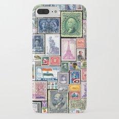 Stamps  |  Collage Slim Case iPhone 7 Plus