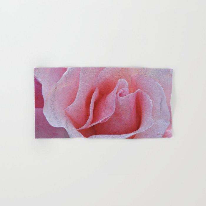Rose Petal Pink Hand & Bath Towel
