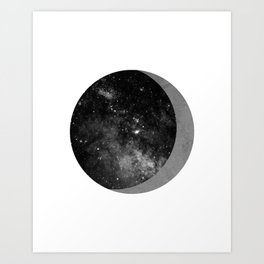 Exit to Outer Space Art Print