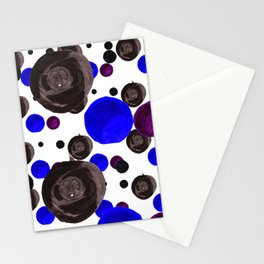 Colorful blowfishes Stationery Cards
