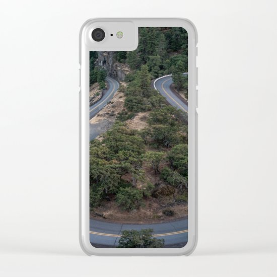 Pacific North West #road Clear iPhone Case