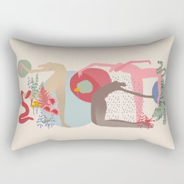 Rain Dance Rectangular Pillow