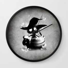 Witch Wall Clock