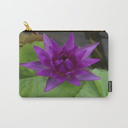 On The Violet Side Carry-All Pouch