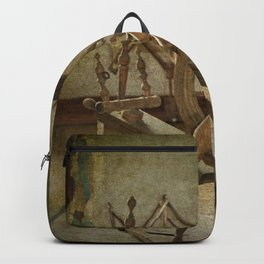 Spinning Wheel Backpack
