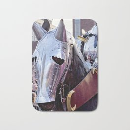 Armoured Horse And Knight Bath Mat