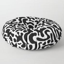 Social Networking Floor Pillow