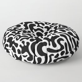 Social Networking Floor Pillow