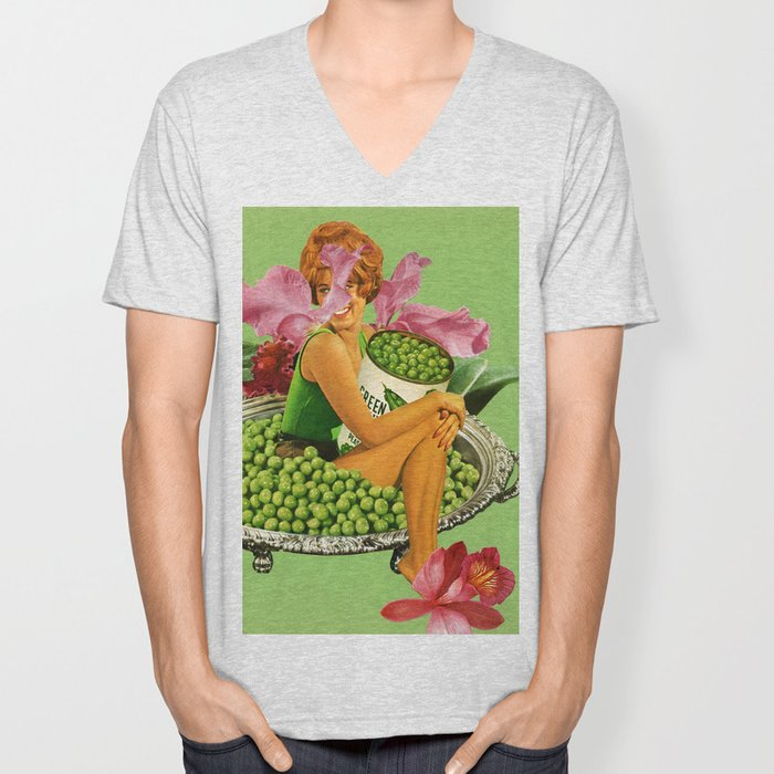 You Want a Peas of Me? Unisex V-Neck