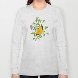 Clouded Sulfur Long Sleeve T-shirt