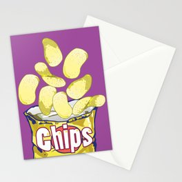 Potato Chips : Junkies Collection Stationery Cards