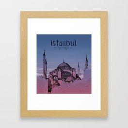 Istanbul - Ayasofya Framed Art Print