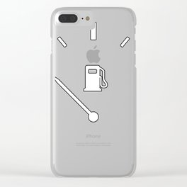 Empty Gas Clear iPhone Case
