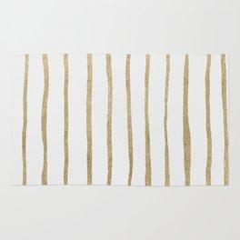 Gold Stripes Rug