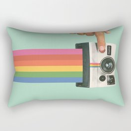 Take a Picture. It Lasts Longer. Rectangular Pillow