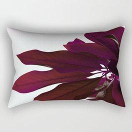 Crimson Red Rectangular Pillow
