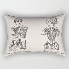 Effects of Corseting Rectangular Pillow