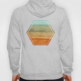 Abstract Seascape No 4: the beach Hoody
