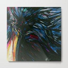 Vincent Van Crow 1 by Kathy Morton Stanion Metal Print
