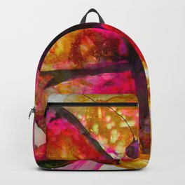 Vivid Butterfly Backpack