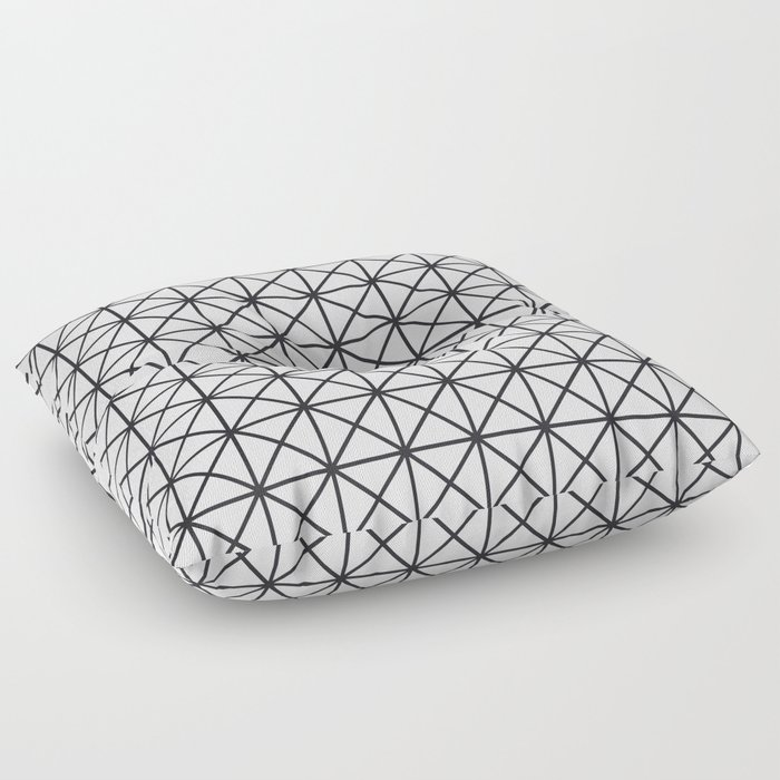 Prism Pattern Floor Pillow