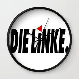 Die Linke (The Left) Wall Clock