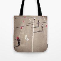 arrow Tote Bags featuring Arrow by Sébastien BOUVIER