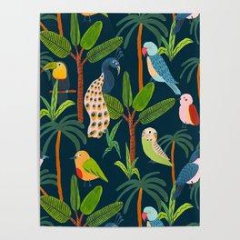Jungle Birds Poster