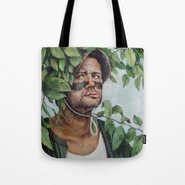 Carl Spackler - Caddyshack Bill Murray Painting Tote Bag