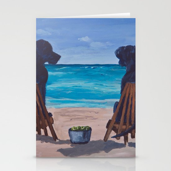 The Perfect Beach Day Stationery Cards