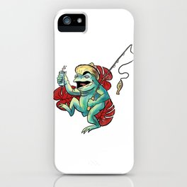 There's a Thin Line Between Saturday Night and Sunday Morning iPhone Case