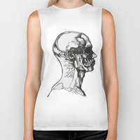 anatomy Biker Tanks featuring Anatomy  by Cjillustrations